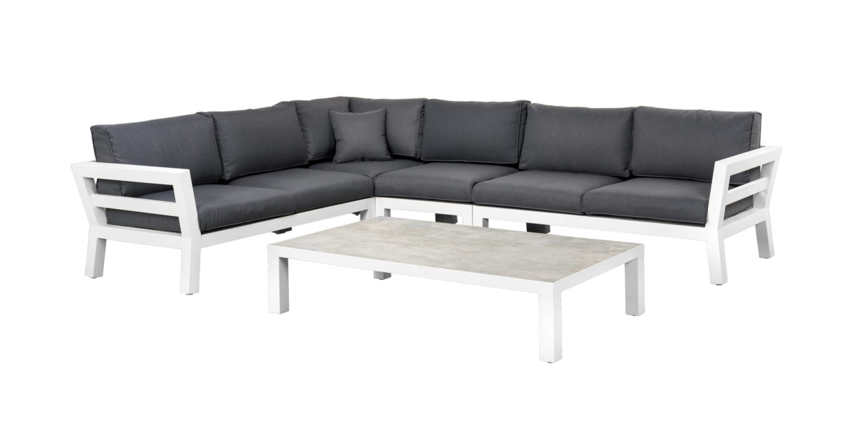 Suns Malmo Loungeset 5-Delig White