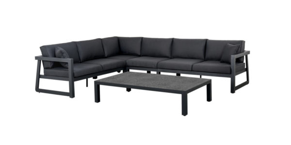 Suns Loungeset Eno 5-Delig Antraciet