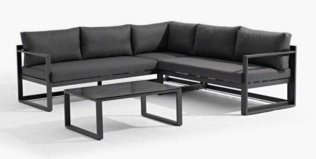 Kees Smit Loungeset.Loungebank Tuin Aluminium Aluminium Loungesets Voor Buiten