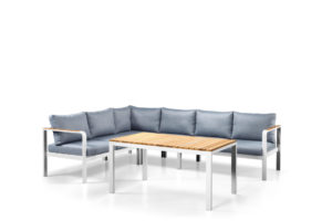 Tuti lounge dining cornerset wit