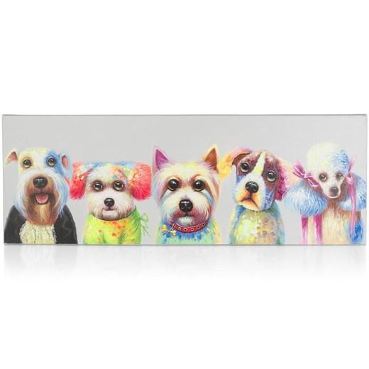 coco maison puppy bast schilderij