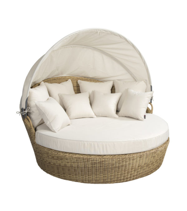 Beach 7 Loungebed Isla Margarita Nature 181 cm Rond