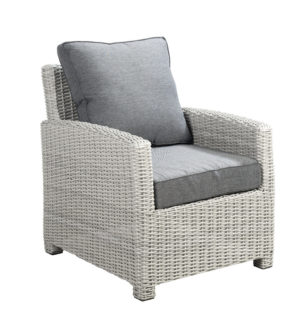 Beach 7 Loungechair Birdwood Multi Grey