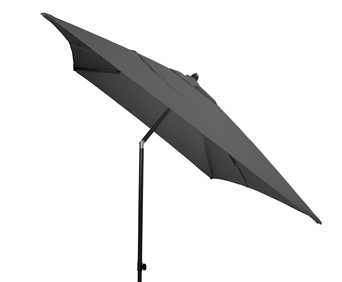Beach 7 Parasol Poster 200x300 cm Dark Grey
