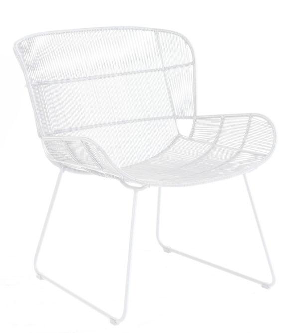 Max & Luuk Lounge Chair Faye White