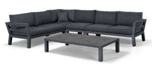 Suns Malmo Loungeset 5-Delig Matt Royal Grey