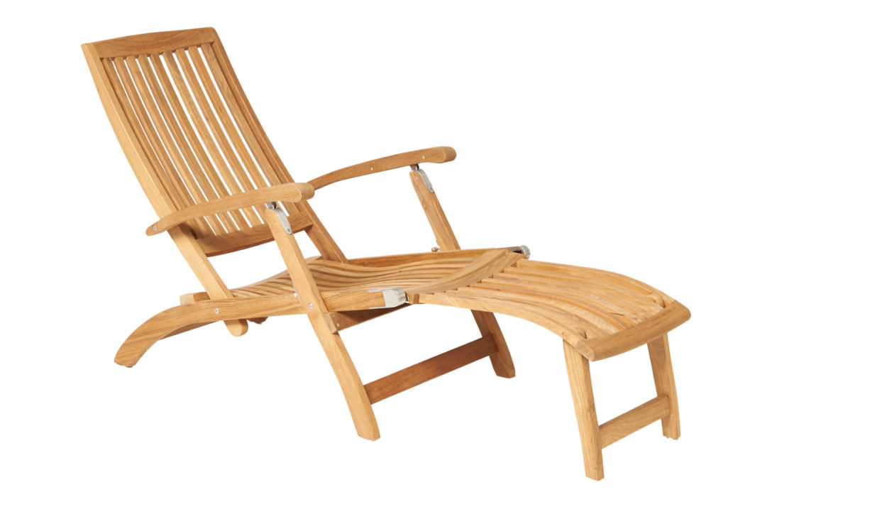 Traditional Teak Alexandra Deckchair
