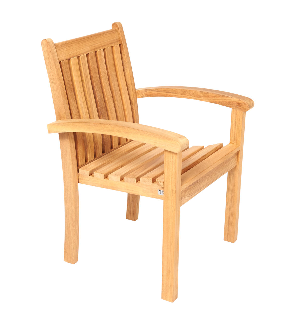 Traditional Teak Victoria Stackingchair