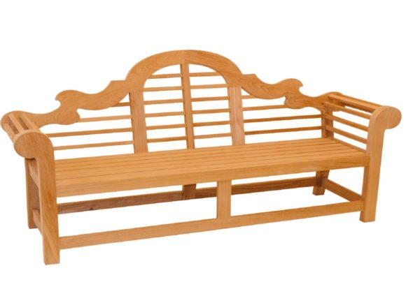Traditional Teak Wilhelmina Bank 196 cm