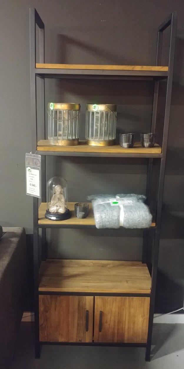 isar boekenkast 70 cm breed showroommodel