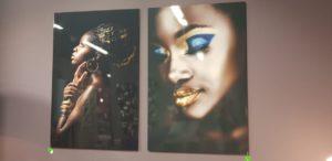Mondiart African Lady showroommodellen