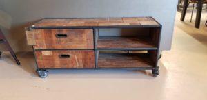 d-Bodhi Pure tv meubel 125 cm showroommodel