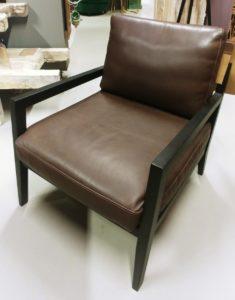 karetta fauteuil leer showroomverlater