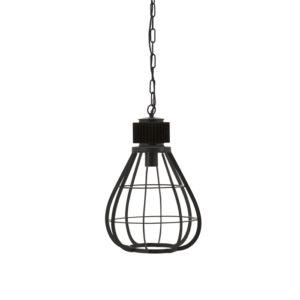 By Boo Moonlight hanglamp medium zwart