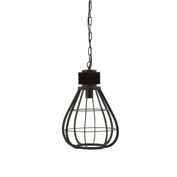 By Boo Moonlight hanglamp medium zwart