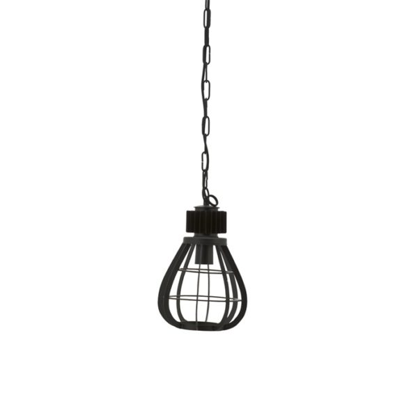 By Boo Moonlight hanglamp small zwart
