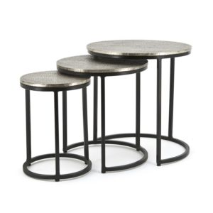 By Boo Trapeze salontafel set van drie rond