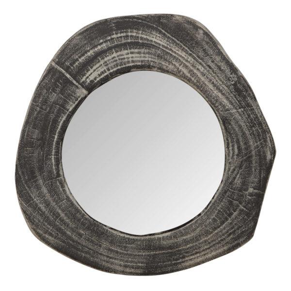 D-Bodhi Mirror Black Looking Teakwood