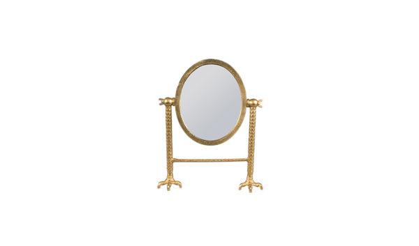 Dutchbone Falcon spiegel messing