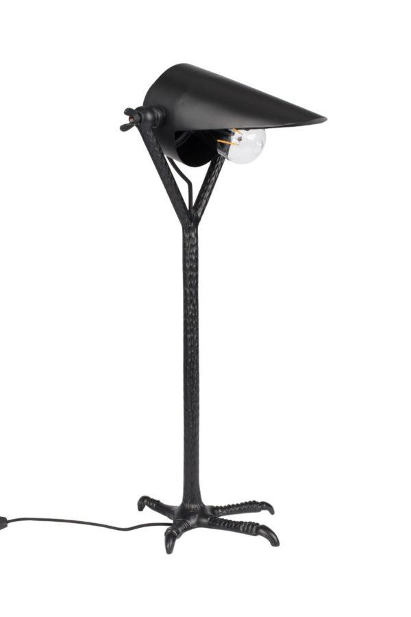 Dutchbone Falcon tafellamp zwart