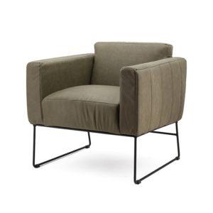 Eleonora Oscar fauteuil groen botswana
