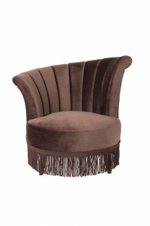 Dutchbone Flair fauteuil bruin