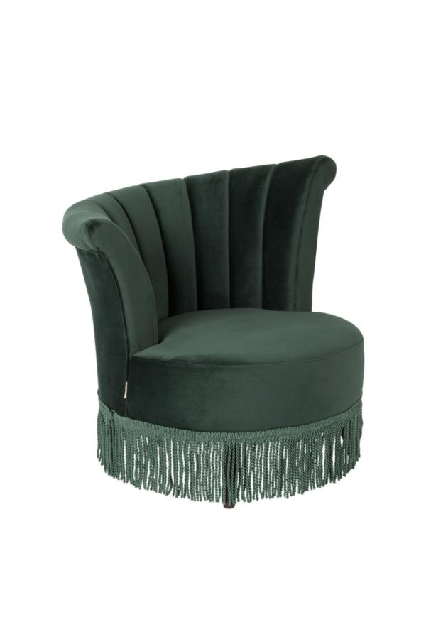 Dutchbone Flair fauteuil groen