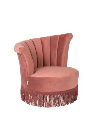 Dutchbone Flair fauteuil roze