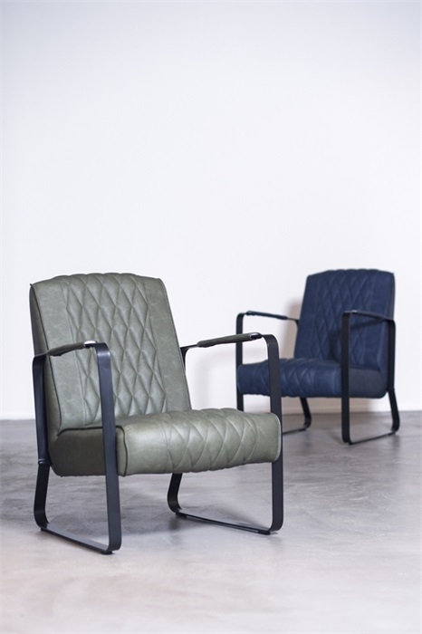 Eleonora Caro fauteuil taupe vintage diverse kleuren