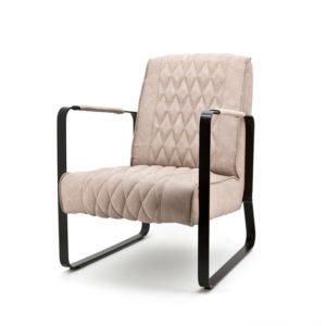 Eleonora Caro fauteuil zand vintage