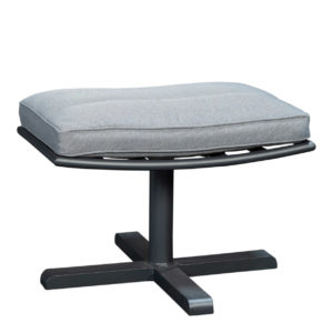 Beach 7 Footstool Papagayo Aluminium Mystic Grey
