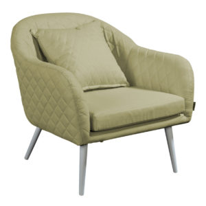 Beach 7 Loungechair Amante Quilted Olive