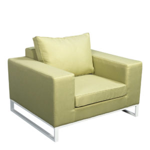 Beach 7 Lounge Tuinstoel Blizzard White Olive