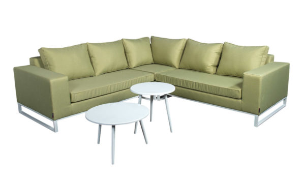 Beach 7 Lounge Tuinset Blizzard 5-delig Upholstery Olive