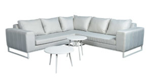 Beach 7 Lounge Tuinset Blizzard 5-delig Upholstery Quilted