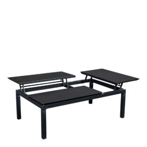 Beach7 Lounge Tuintafel Central Aluminium Black