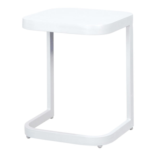 Beach7 Laptoptafel Scaloppino Aluminium White