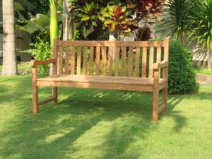 Garden Deals Tuinbank Promo 150 cm Teakhout