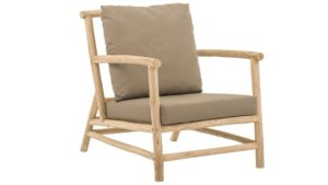 Apple Bee Loungechair Rooty Teak Taupe