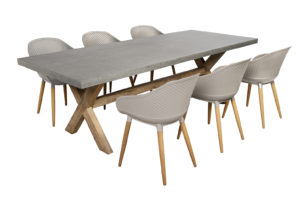 Beach7 Tuinset Antibes 7-delig Taupe 240