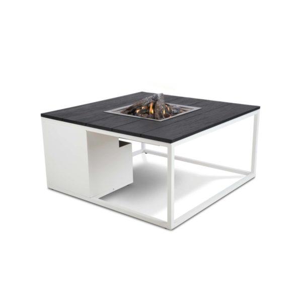 Cosifires Cosiloft 100 Buitenhaard White-Black