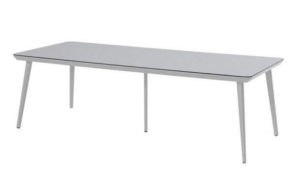 Hartman Tafel Sophie 240x100 cm HPL Light Grey