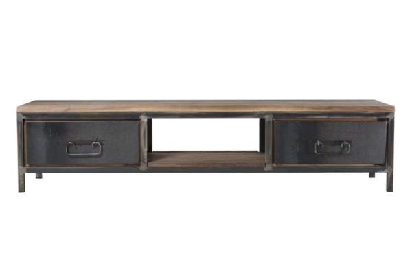 Hudson TV dressoir 192 cm teakhout