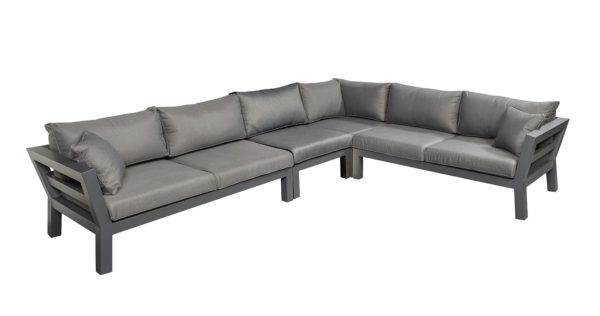 Suns Loungeset Malmo 4-Delig Matt Royal Grey