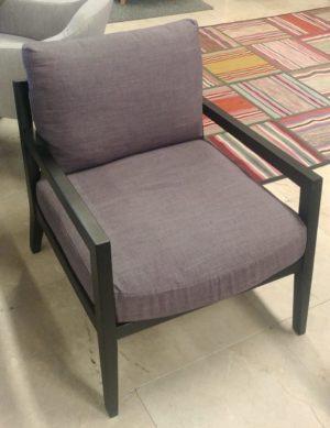 karetta fauteuil in stof showroommodel