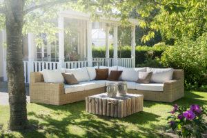 Vlechtwerk loungesets