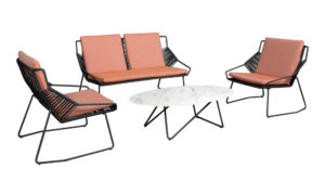 Beach7 Loungeset Papillon Zwart