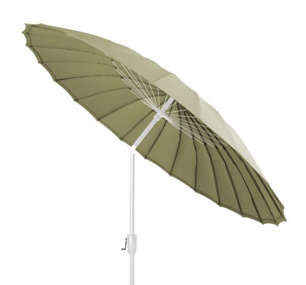 Beach7 Parasol Shanghai Wit Olive