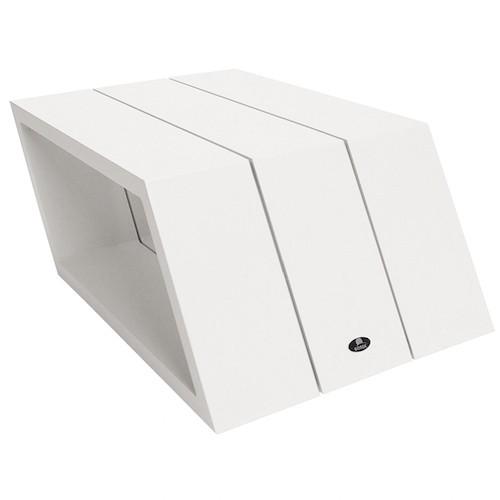 Borek Bijzettafel Viking Aluminium White