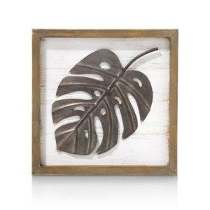 Coco Maison Monstera leaf 30 x 30 cm